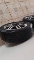 Rodas aro 15 do Astra com pneus