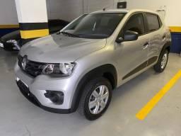 Título do anúncio: Renault Kwid  2020 Prata 15.000kms