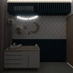 Arquitetura de quarto para crianças