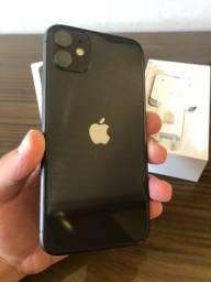 IPhone 11 128GB Seminovo - Caixa e acessórios