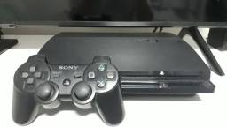 PlayStation 3 Slim 160Gb + 2 jogos