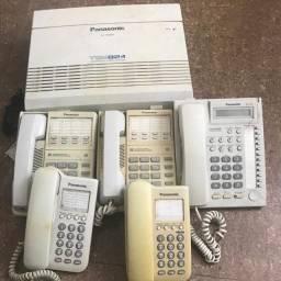 Central Telefonica Panasonic KX-TEM824 Hybrid Sistem