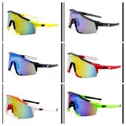 Óculos p ciclismo e corrida
