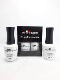 Kit Esmalte em Gel para Francesinha Nail Perfect