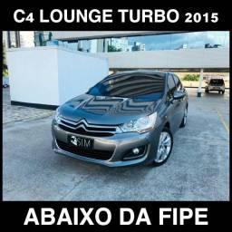 Citroen C4 Lounge Tendance 1.6 Flex Turbo Thp - 2015