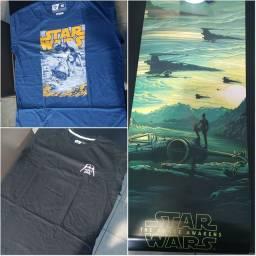 Camisetas Star Wars & Poster + Brinde - Exclusivos de edições da Nerd ao Cubo<br>