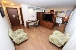 Flat à venda para investimento, no Holiday Inn Anhembi, com 1 dormitório e 1 vaga