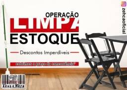 Mesa de Bar - Conjunto 70x70 com 4 Cadeiras em Madeira Maciça - Cobrimos Oferta