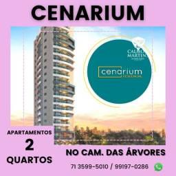 Título do anúncio: Apartamento 2/4 em 72m² 1 vaga - Cenarium Residencial