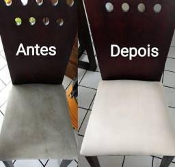 Limpeza Profissional em Cadeiras de jantar