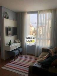 Título do anúncio: Apartamento com 2 dormitórios à venda, 44 m² por R$ 240.000,00 - Cézar de Souza - Mogi das