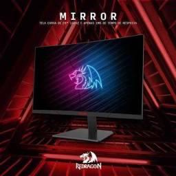 Monitor Gamer Redragon Mirror 144hz 1ms 24'' Curvo Novolacrado