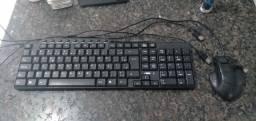 Teclado + mouse + mousepad