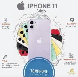 Título do anúncio: IPhone 11 Zero Na Caixa 64 gigas