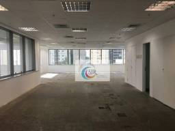 Título do anúncio: Conjunto comercial 214 m de área útil em vão livre, piso monolítico e porcelanato, forro d