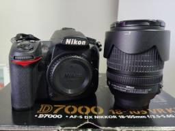 Nikon D7000 Kit 18-105mm + 2 SD
