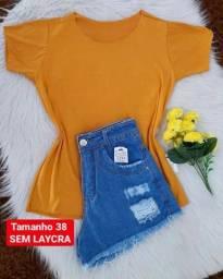 Short + blusa 69,99