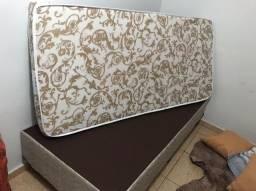 Base box Ortobom + colchão