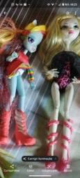 Monsters high e Littlle Poney rainbow
