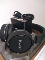 Fone de ouvido com cabo removível