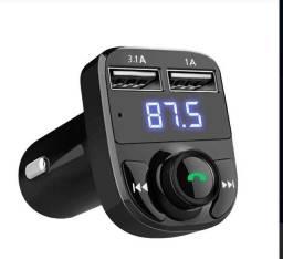 Kit Mãos Livres Bluetooth para  Carro.<br>