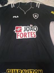 Camisas do Botafogo original da marca Fila, tamanho GG