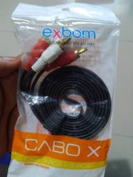 CABO 3 RCA X 3 RCA 1.5 METROS LACRADO
