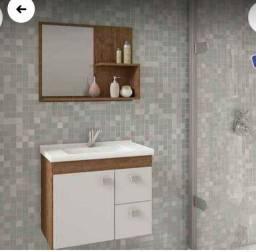 Título do anúncio: Máquina armário de banheiro e cadeirinha