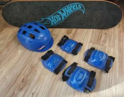 Título do anúncio: Vendo Skate HotWheels - Semi novo