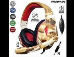 Headset Gamer Fone De Ouvido Pc Ps4 Ps3 Xbox One Free Fire