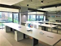 Título do anúncio: Conjunto comercial de 265 m² de área útil, pronto para entrar! Condições de entrega: piso
