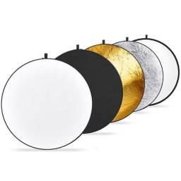 Título do anúncio: Rebatedor Circular Grande - 110cm - Greika 5 em 1 - Refletor REB110