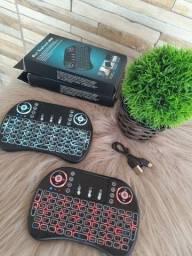Mini Teclado Wireless para Smart Tv Touch, Tv Box Air Mouse