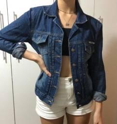 Jaqueta jeans Oratória M escura