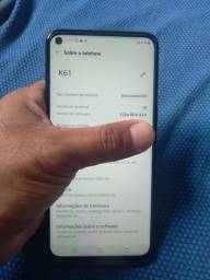 VENDO  LG K61 128GB 4GB DE RAM NOVO ZERO SOU DE ARAPIRACA AL WHATSAPP 9  *
