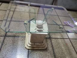 Mesa de centro travertino 0.40 X 0.60