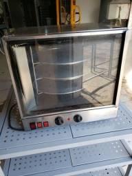 Título do anúncio: Forno Titã 3 esteiras elétrico 220 V, excelente para salgados