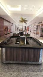 Quiosque para Shopping / Galeria - com inox e mármore