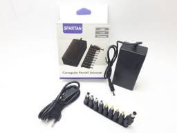 Fonte carregador universal Notebook Laptop Adaptador com 9 conectores 12V A 24V