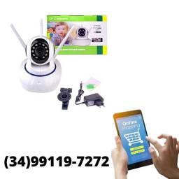 Título do anúncio: Câmera Wi-Fi Robô 360º App no Celular