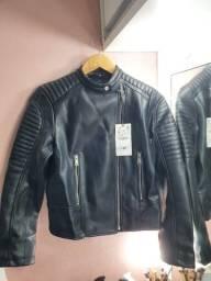 Jaqueta couro ecológico