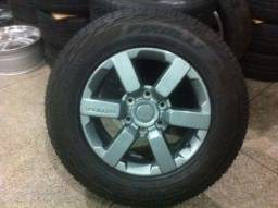 Roda Novo TROLLER aro 17 original + pneu Pirelli Scorpion ATR 265/65/17 novo