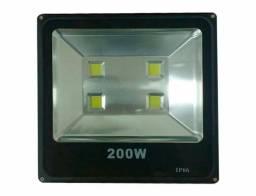 Holofote Branco Frio 200w Ip65 Bivolt