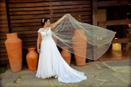 Vestido de noiva usado apenas uma vez