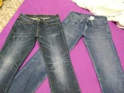 2 calças jeans por 50,00 IMPORTADA! DE MARCA!!!!