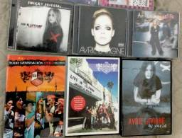 (CDs e DVDs Originais) RBD Rebelde e Avril Lavigne