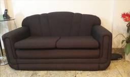 Vendo sofá de 2 lugares, bem conservado!