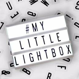 Mini Lightbox Preto