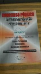 Livro- Concurso Público - Técnico Em Gestão Previdênciária