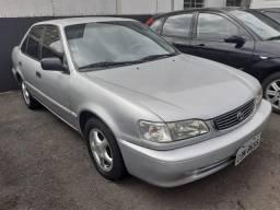 Toyota Corolla 1.8 XLI Completo com Ar Gelando Impecável - Financie Fácil Alex - 1999